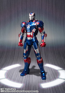 Bandai S.H.Figuarts Marvel Iron Man 3 Iron Patriot