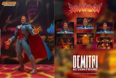 Storm Collectibles Darkstalkers Demitri Maximoff Action Figure