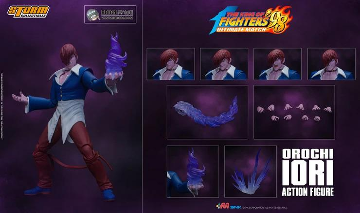 Storm Collectibles King of Fighters 98 BBICN Exclusive Orochi Iori Action Figure