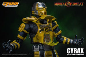 Storm Collectibles MORTAL KOMBAT CYRAX ACTION FIGURE