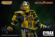 Load image into Gallery viewer, Storm Collectibles MORTAL KOMBAT CYRAX ACTION FIGURE