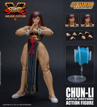 Load image into Gallery viewer, Storm Collectibles Street Fighter V Chun-Li (Battle Costume) Action Figure