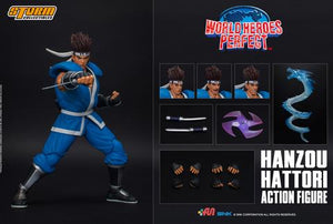 Storm Collectibles World Heroes Perfect - Hanzou Hattori Action Figure