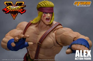 Storm Collectibles Street Fighter V Alex Action Figure