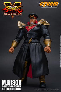 Storm Collectibles Street Fighter V M. Bison Battle Costume Action Figure
