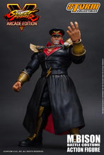 Load image into Gallery viewer, Storm Collectibles Street Fighter V M. Bison Battle Costume Action Figure