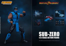 Load image into Gallery viewer, Storm Collectibles Mortal Kombat Sub-Zero 1:12 Action Figure