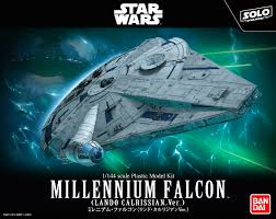 Bandai Star Wars 1/144 Millennium Falcon (Lando Calrissian Ver.) (Model Kit)