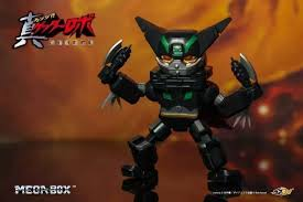 52TOYS Getter Robo Armageddon MegaBox Black Getter Robo