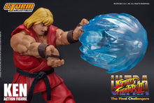 Load image into Gallery viewer, Storm Collectibles Ultra Street Fighter II Ken Action Figure