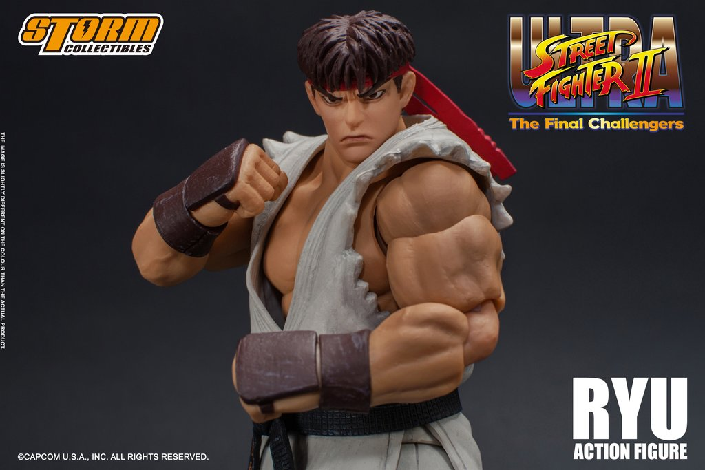 Storm Collectibles Ultra Street Fighter II Ryu Action Figure
