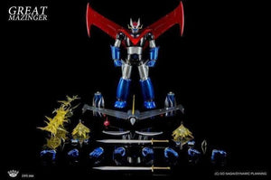 King arts Great Mazinger Action Figure
