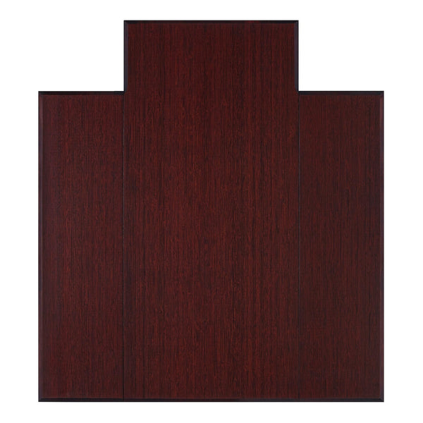 Plush Bamboo Chair Mat (With Lip)