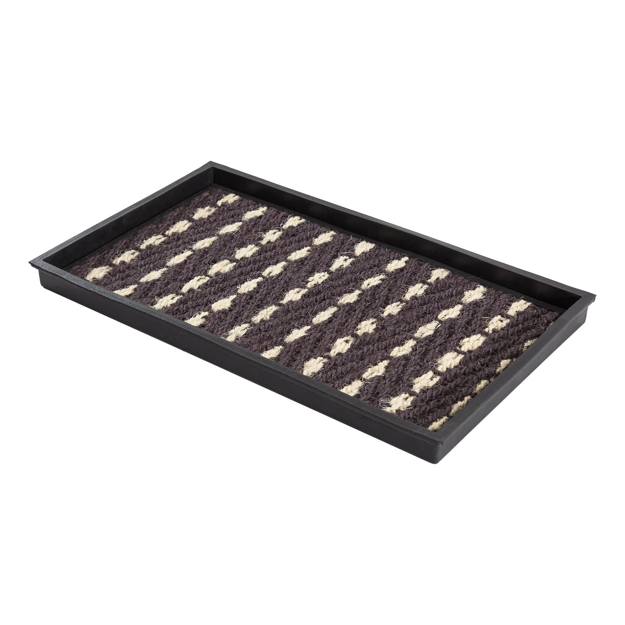 Boot Tray - Black/White (008)