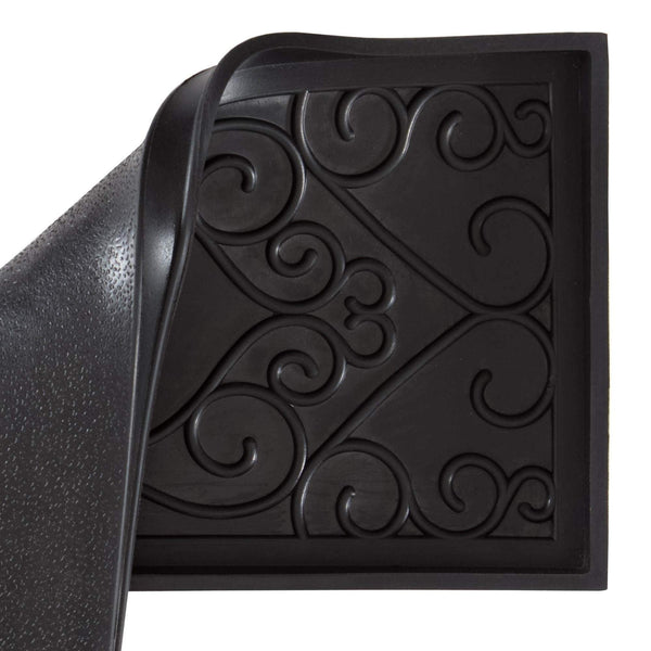 Rubber Boot Tray - Rectangle Ripple (018)