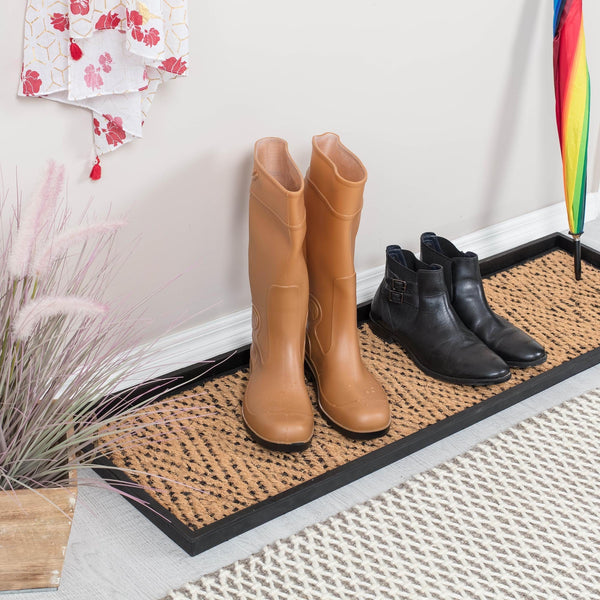 Boot Tray - Tan/Black (003)