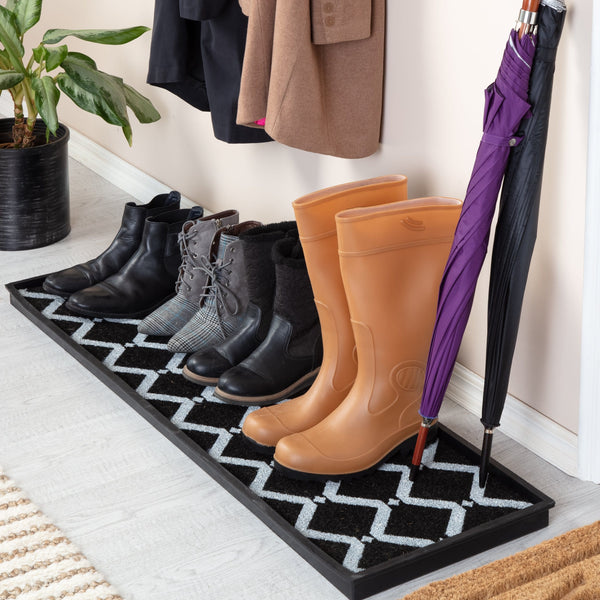 Rubber Boot Tray - San Tropez (014)