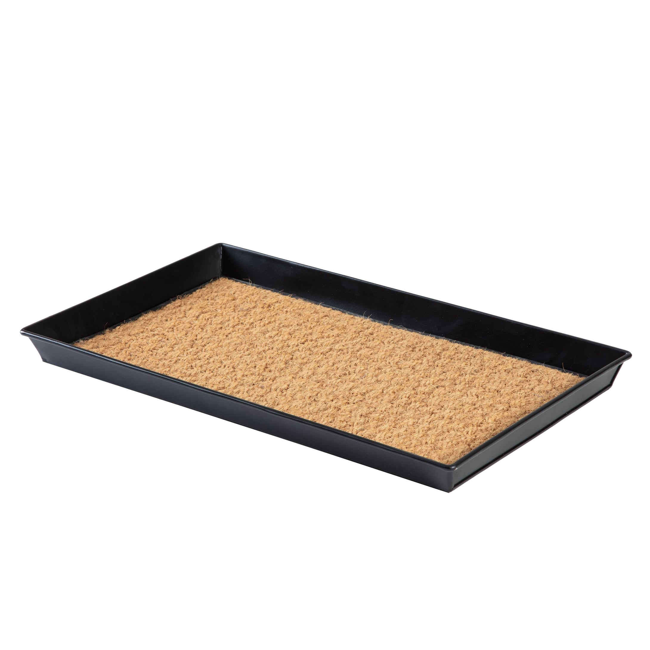 Metal Boot Tray - Smoked Oak (001)