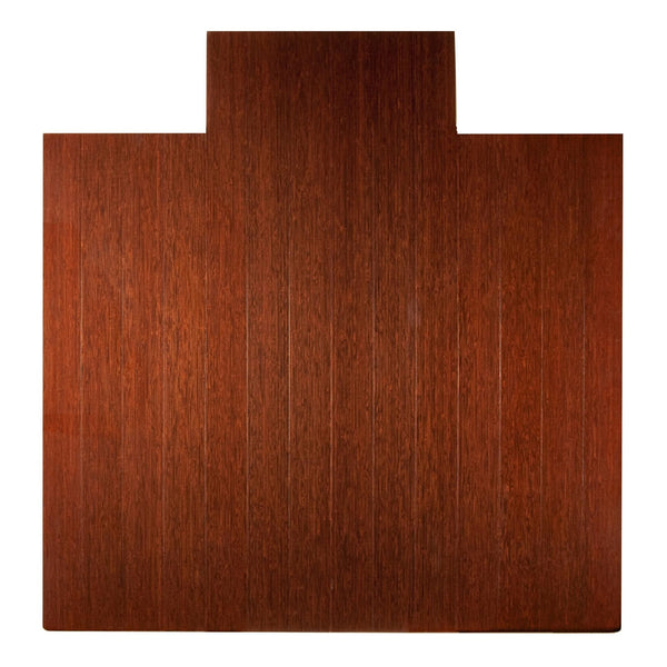 Deluxe Bamboo Chair Mat (With Lip)