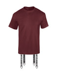 Arrow Tee in Burgundy - streetwear - Untitled&Co