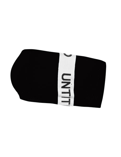 Cozy Bandeau in Black - streetwear - Untitled&Co