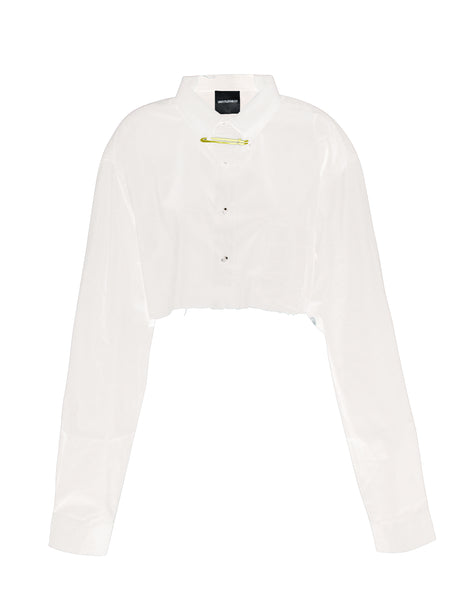 Tatu Top in White - streetwear - Untitled&Co