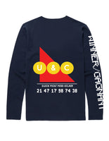 Winner Gagnant L/S in Navy - streetwear - Untitled&Co