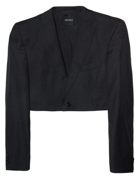 Crop Blazer - streetwear - Untitled&Co