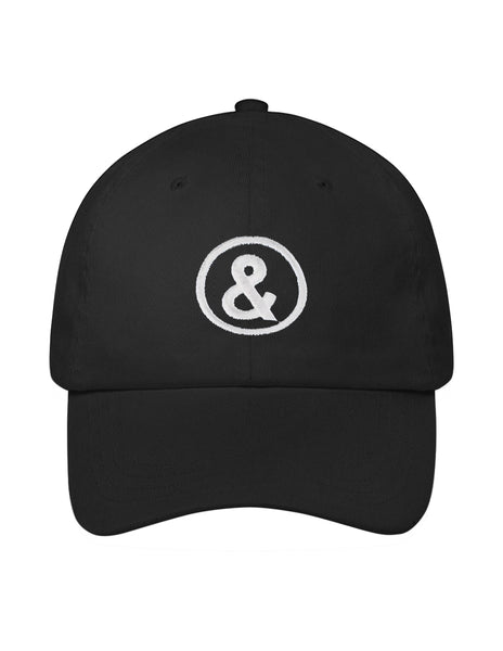 Signature Logo Cap in Black