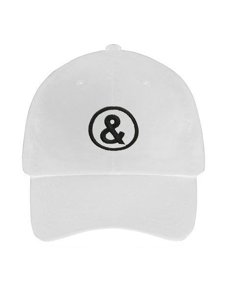 Signature Logo Cap in White