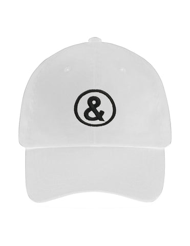 Untitled Daddy Cap in White - streetwear - Untitled&Co