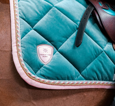 Equestrian Dreams Are Made of Velvet Saddle Pads