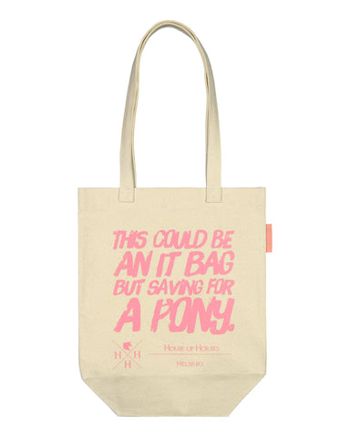Saving for a Pony Tote