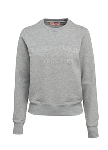 HOH CLASSIC SWEATSHIRT WITH DIAMANTÉ STONE PRINTE