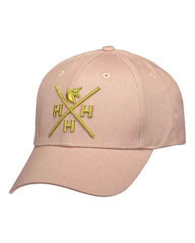 HoH Cap Dusty Pink & Gold