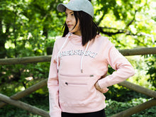 Load image into Gallery viewer, HOH COLLEGE HOODIE PINK