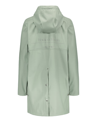 House of Horses Helsinki Raincoat Mint - PRE-ORDER STYLE