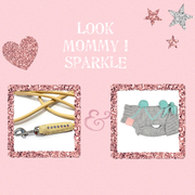 Look Mommy I Sparkle Mint