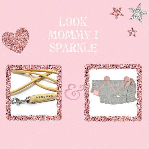 Look Mommy I Sparkle Pink