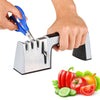 4 in 1 Kitchen Knife Sharpener Diamond Sharpening Grinder knives