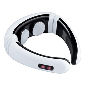 Electric infrared pulse back and neck massager