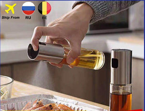 BBQ Cooking Glass Oil sprayer
