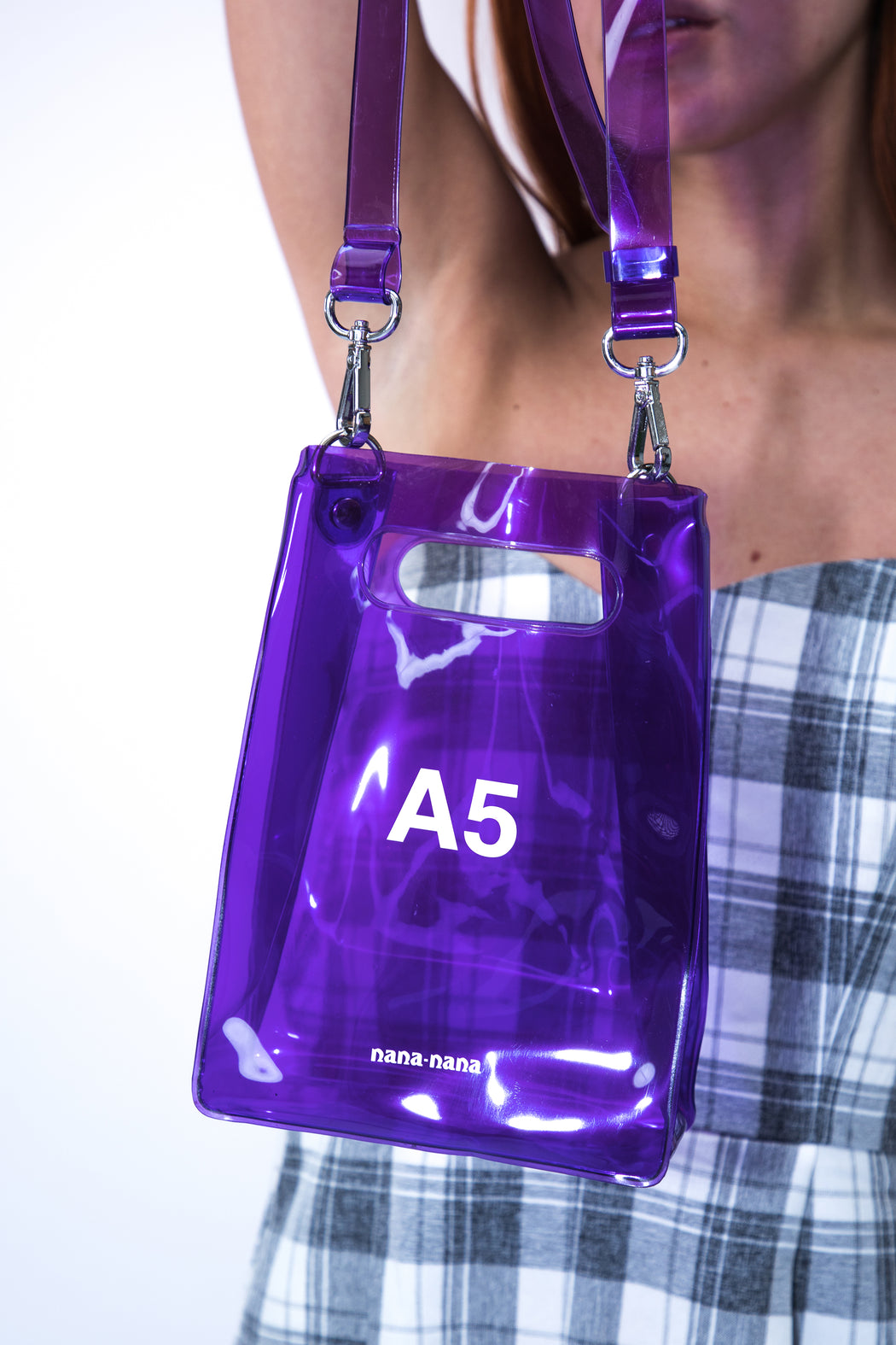 A5 Purple Bag