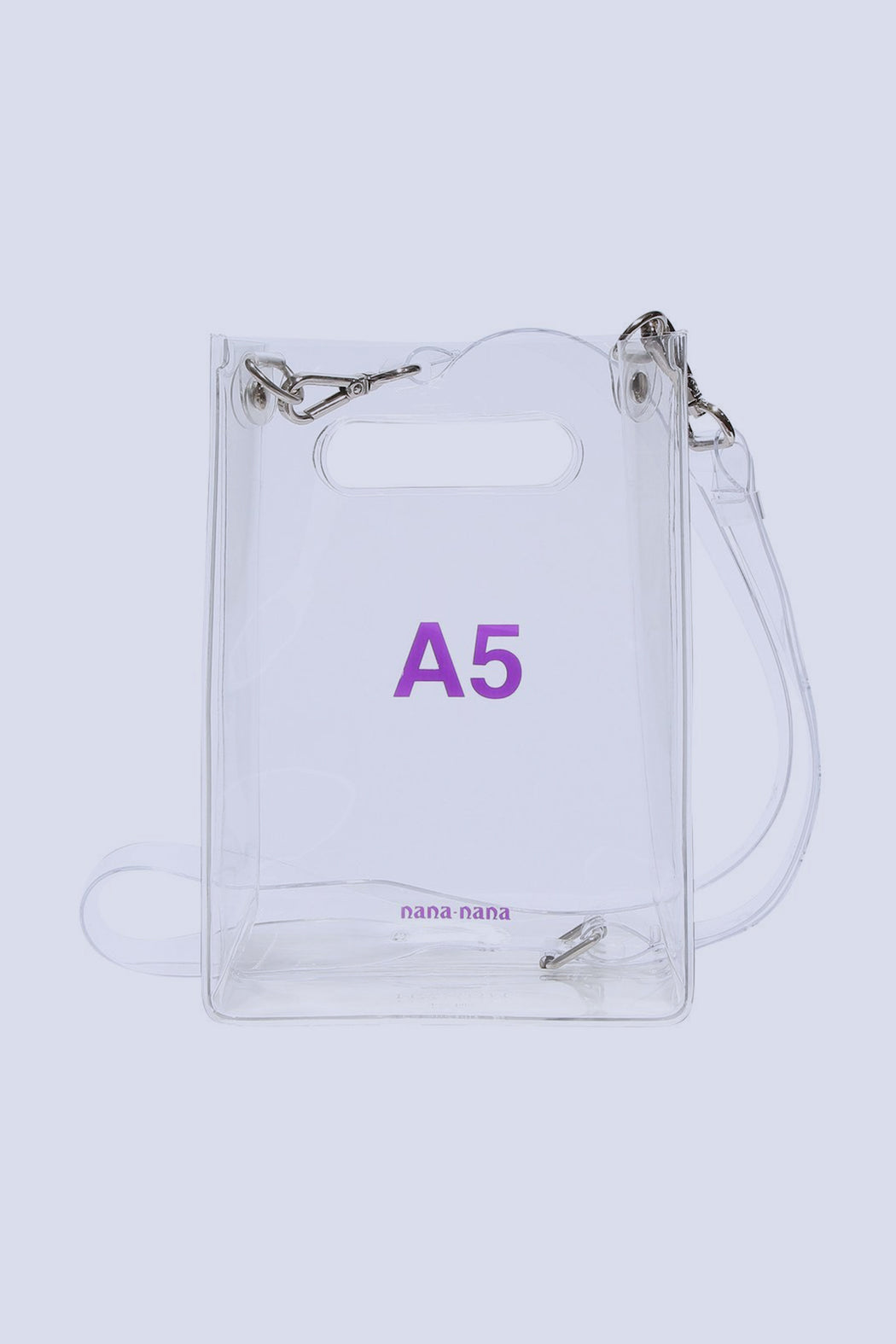 A5 transparent bag