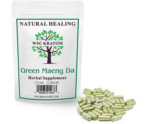 WSC Kratom Green Maeng Da - Best Kratom For Energy