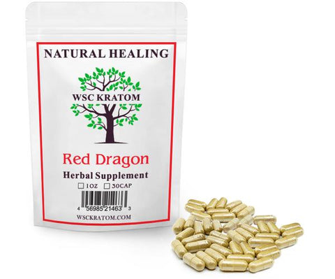 WSC Red Dragon Kratom for Sleep & Relaxation