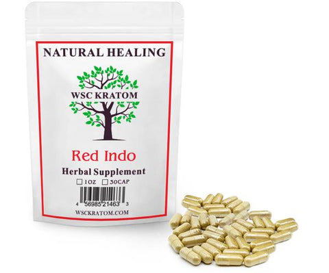 WSC Red Indo Kratom For Sleep & Relaxation