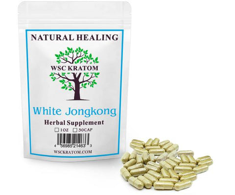 WSC Kratom White JongKong - Best Kratom For Energy