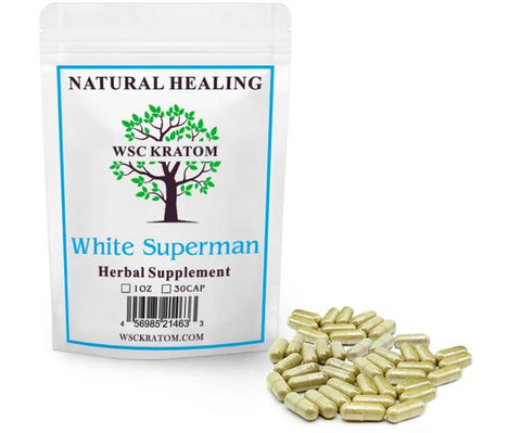 WSC Kratom White Superman - Best Kratom For Energy