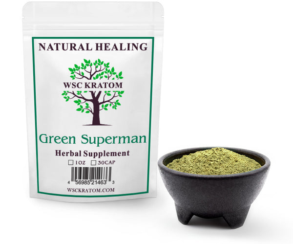 Green Superman Powder